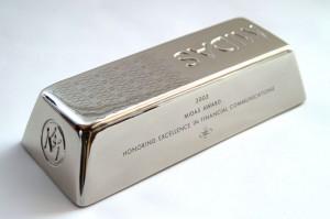 Серебро подорожало до 40 долларов за унцию
