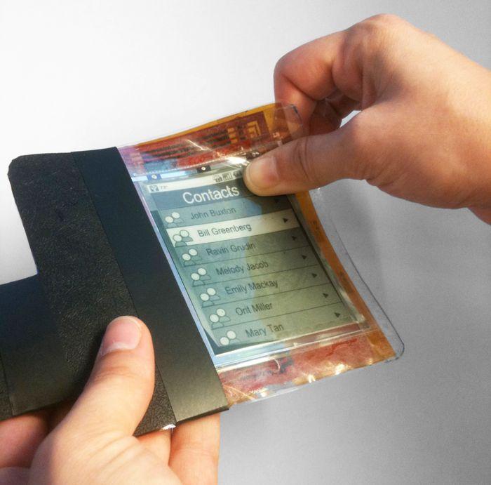 PaperPhone смартфон с гибким экраном